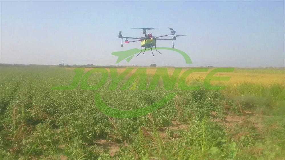 Greece customers drone spraying cotton