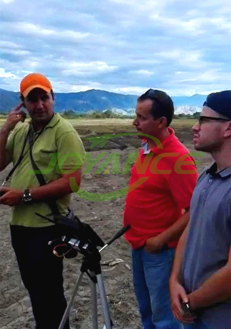 Colombian customers satisfy with Joyance drones