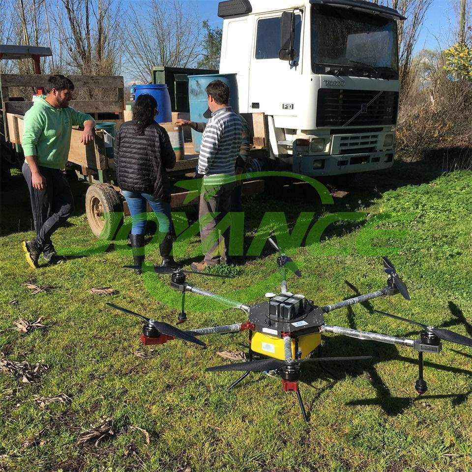 Chile customers satisfy with Joyance spraying drones