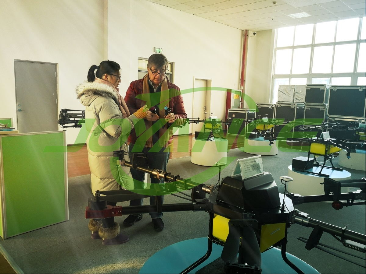 Customer visits Joyance Tech for new agriculture spraying technology