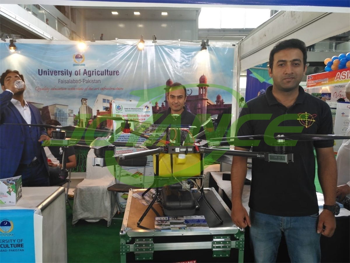 Joyance drones at Dawn Pakistan Food & Agri Expo 2019