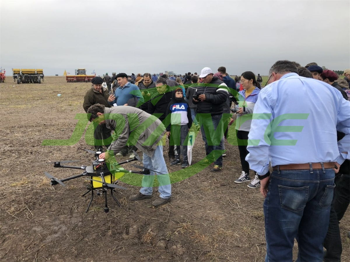 Joyance drones are popular in AGROACTIVA 2019, Argentina