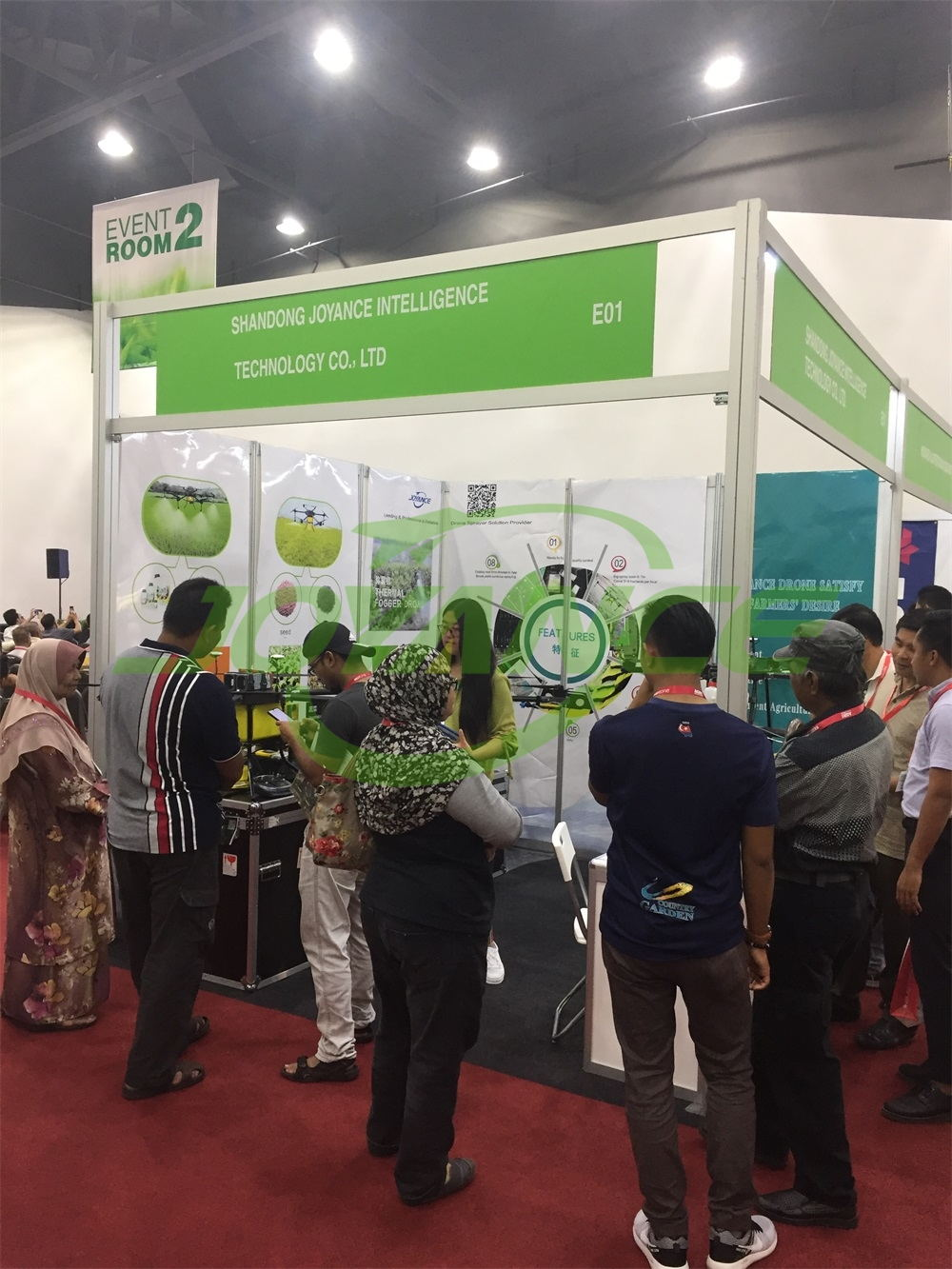 Joyance sprayer drones are popular at AGRI MALAYSIA 2019